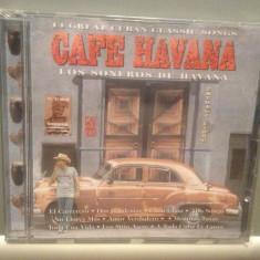 CAFE HAVANA - 14 CUBAN CLASSIC SONGS(1994/MASTER/UK) - ORIGINAL/NOU/SIGILAT - Muzica Chillout Altele, CD