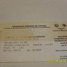 Bilet Romania - Bosnia-Hertegovina - Bilet meci