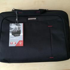 Smasonite GuardIT Bailhandle 40.6cm/16inch Black - Geanta laptop Samsonite, Diplomat, Altul, Negru