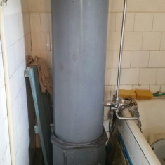 Cazan apa calda de 80 litri cu focar ptr. gaz si lemne - Boiler