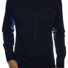 Camasa Tommy Hilfiger - camasa bleumarin camasa alba camasa roz camasa bej - Camasa barbati, S, M, Gri