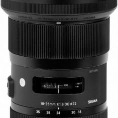 Vand Obiectiv Sigma 18-35mm F1.8 DC HSM-ART, Canon + Bonusuri - Obiectiv DSLR