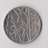 Moneda 5 francs 1992 - Franta, Europa