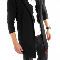 Hanorac tip ZARA fashion negru - hanorac barbati - LICHIDARE DE STOC 6022, Marime: S/M, L/XL, Culoare: Din imagine