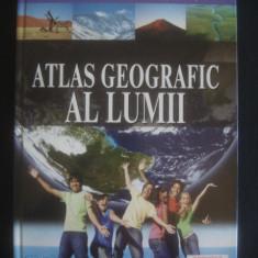 ATLAS GEOGRAFIC - AL LUMII {anul 2008, format mare 30 x 23 cm} - Carte Geografie