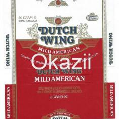Pachet tigari - Ambalaj pachet necartonat tigari Dutch Wing / Mild american