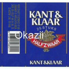 Pachet tigari - Ambalaj pachet necartonat tigari Kant&Klaar