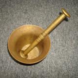 Piulita cu mojar vechi din bronz/metal/decor/colectie/vintage/piulite/piua. - Metal/Fonta, Ornamentale
