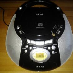 Akai combina muzicala portabila - Combina audio