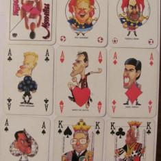 CY - Set complet carti joc GUERIN SPORTIVO cu personalitati din fotbal anii '90 - Carti poker