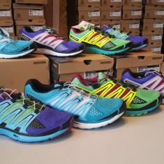 Salomon X-Scream W (dama), pantofi alergare suprafata mixta asfalt + trail - Adidasi dama Salomon, Marime: 38, Culoare: Mov, Textil