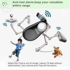 Accesoriu - TAG Bluetooth /GPS Locator/Antifurt geanta/animale/copii/telefon/chei