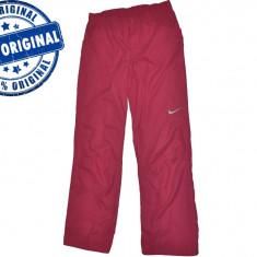 Pantaloni dama Nike, Lungi, Poliester - Pantalon dama Nike Sports Club - pantaloni originali