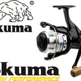 Mulineta Okuma Longbow Baitfeeder 660 Manivela Lemn Excelenta 6 Rulmenti 0.LG660