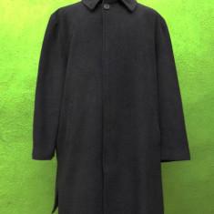 Palton/Pardesiu Trussardi Collection original - Palton barbati Trussardi, Marime: 54, Culoare: Antracit, Lana