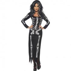 Costum Halloween - Rochie Schelet S - Carnaval24