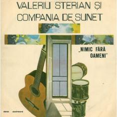 Valeriu Sterian – Nimic fara oameni (LP) - Muzica Rock electrecord, VINIL