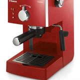 Espressor Philips Saeco Poemia, 15 bari, 1.25 l, rosu - Espressor automat