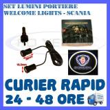 SET 2 x LUMINI LOGO LASER SCANIA GENERATIA 6 (12V, CAMION 24V) - LED CREE 7W