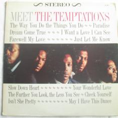 The Temptations – Meet The Temptations _ vinyl(LP, album) SUA - Muzica R&B Altele, VINIL