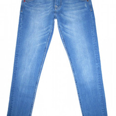 GSUS SINDUSTRIES - (MARIME: 26 x 32) - Talie = 76 CM, Lungime = 102 CM - Blugi dama Mustang, Culoare: Albastru, Skinny, Normal, Joasa