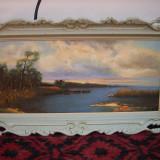 Tablou, Peisaje, Ulei, Impresionism - Ulei pe panza