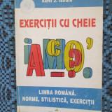 Aurel J. ISTRATE - EXERCITII CU CHEIE LIMBA ROMANA (POLIROM - 1997)