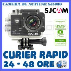 CAMERA DE ACTIUNE SPORT SJ5000 WIFI, FULL HD 1080P, 14 MPX, ACCESORII DE FIXARE - Camera Video Actiune SJCAM