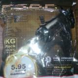 Bile Airsoft de 0.25G - 1 KG - negre - 50 lei