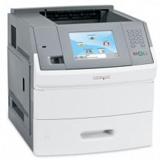 Imprimanta laser monocrom Lexmark T656DNE, Duplex, Retea, 55ppm - Imprimanta laser alb negru
