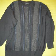 Pulover toamna-primavara, TCM, marimea 52-54 (X - XL) - Pulover barbati, Culoare: Negru, La baza gatului, Poliester