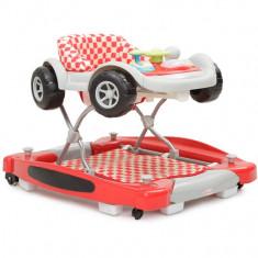 Premergator Copii Si Bebe CANGAROO Car Rosu