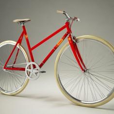 Pegas Clasic F - 3 viteze, Rosu - Bicicleta retro