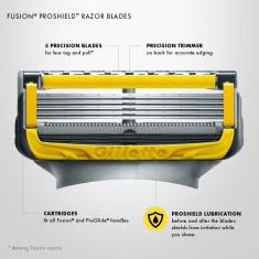 Rezerve Gillette Fusion Proshield (aparitie noua--superpret)