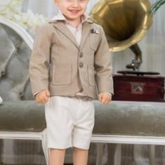 "Trusou botez - Costum botez ""Nick"" (Imbracaminte pentru varsta: 9 luni - 74 cm)"