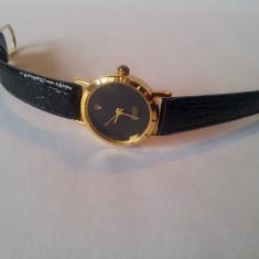 Ceas de dama elegant DIAMOND, model clasic auriu - Ceas dama, Casual, Quartz, Metal necunoscut, Analog, 2000 - prezent