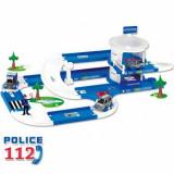 Masinuta de jucarie - Kid Cars 3D Garaj pentru Politie