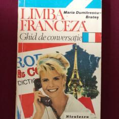 Maria Dumitrescu-Brates - Limba franceza - 435560 - Ghid de conversatie niculescu