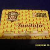 Invitatie Rapid tur 2002-2003