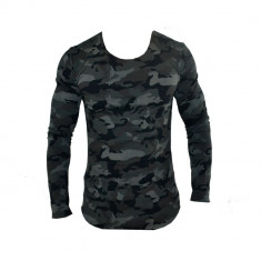 Bluza Zara Man Army Cod Produs 12016 - Hanorac barbati Zara, Bumbac