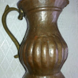 Carafa din cupru confectionata manual - Metal/Fonta, Vase