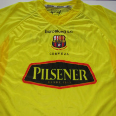 Tricou echipa fotbal, De club, Maneca scurta - Tricou fotbal - BARCELONA SC GUAYAQUIL (Ecuador)