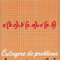 Gh. Tiganila - Culegere de probleme de matematici - 525919 - Carte Matematica