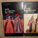 Carte design vestimentar - Mode si vesminte din trecut 2 vol./ an 1971/ilustratii/722pag- Al.Alexianu