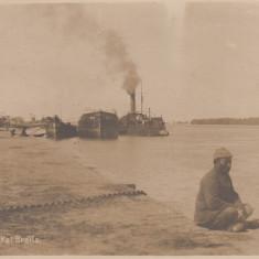 BRAILA, MONITOR AM KAI BRAILA, PORTUL SI NAVE - Carte Postala Muntenia dupa 1918, Necirculata, Printata