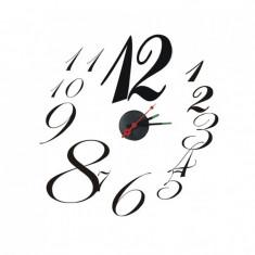 Sticker ceas Maxtar, 50 x 50 cm - Ceas de perete
