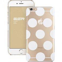 Husa Iphone 6 plus cu buline - Husa Telefon Apple, Alb