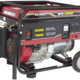 Drujba - Weima WM-7000E, 6.5 kW, benzina, pornire electrica, cu roti