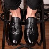 Pantofi barbatesti Oxford Fashion.Cod POS1