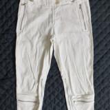 Pantaloni ¾ Prada Made in Italy; marime 42, vezi dimensiuni; impecabili, ca noi - Pantaloni dama, Culoare: Din imagine